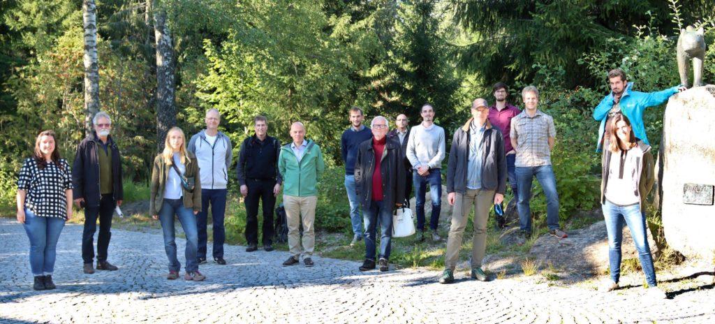 VISAMMOD Workshop im Bayerischen Wald